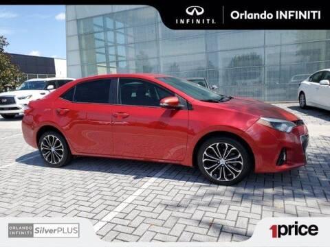 2015 Toyota Corolla for sale at Orlando Infiniti in Orlando FL