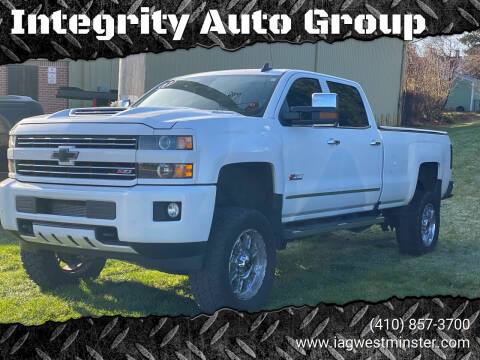 2017 Chevrolet Silverado 2500HD for sale at Integrity Auto Group in Westminister MD
