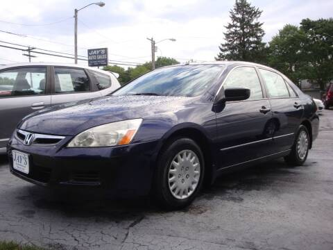 2007 Honda Accord for sale at Jay's Auto Sales Inc in Wadsworth OH