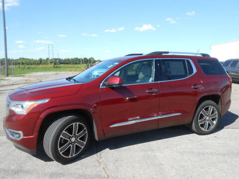 2018 GMC Acadia for sale at Salmon Automotive Inc. in Tracy MN