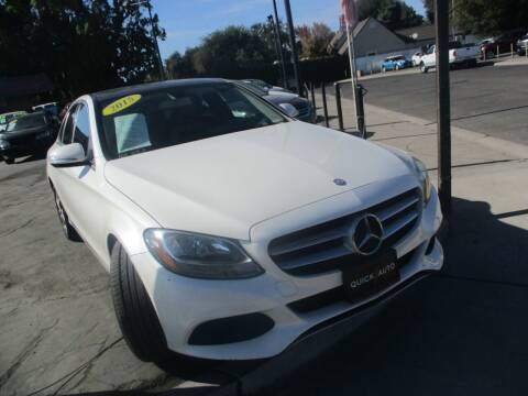 2015 Mercedes-Benz C-Class for sale at Quick Auto Sales in Modesto CA