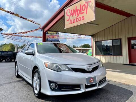 2014 Toyota Camry for sale at Sandlot Autos in Tyler TX