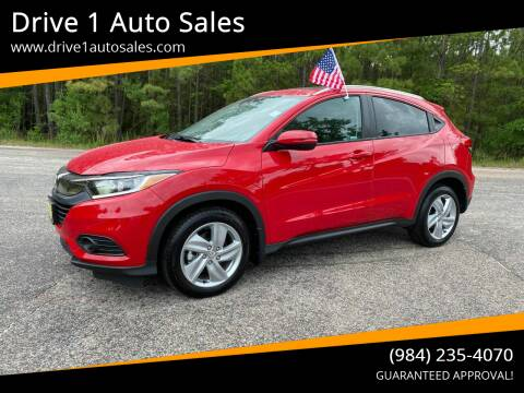 2019 Honda HR-V for sale at Drive 1 Auto Sales in Wake Forest NC
