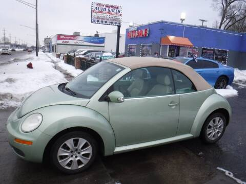 2008 Volkswagen New Beetle Convertible for sale at City Motors Auto Sale LLC in Redford MI