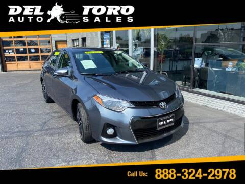 2016 Toyota Corolla for sale at DEL TORO AUTO SALES in Auburn WA