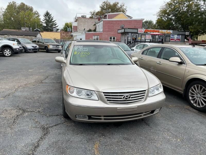 2006 Hyundai Azera for sale at Chambers Auto Sales LLC in Trenton NJ
