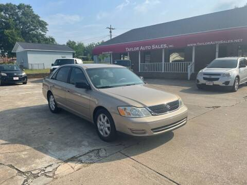 2001 Toyota Avalon for sale at Taylor Auto Sales Inc in Lyman SC