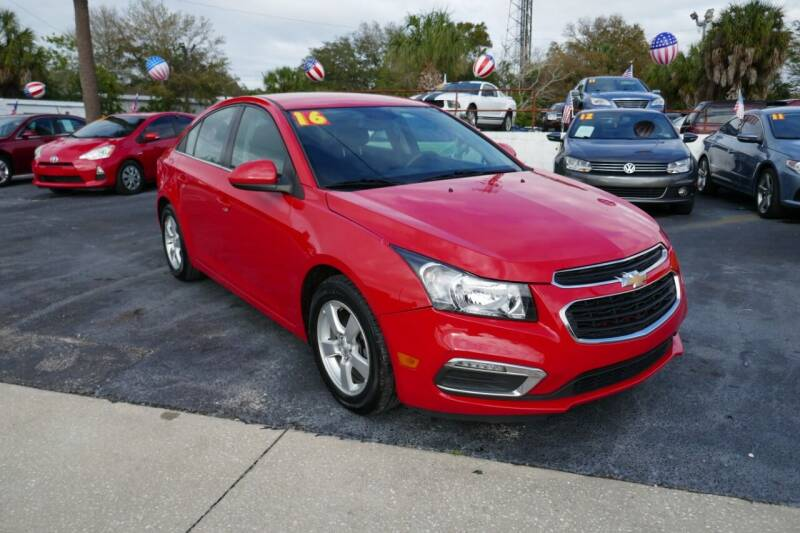 2016 Chevrolet Cruze Limited for sale at J Linn Motors in Clearwater FL