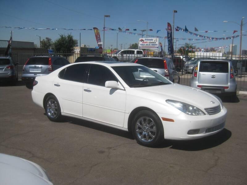 2004 Lexus ES 330 for sale at Town and Country Motors - 1702 East Van Buren Street in Phoenix AZ