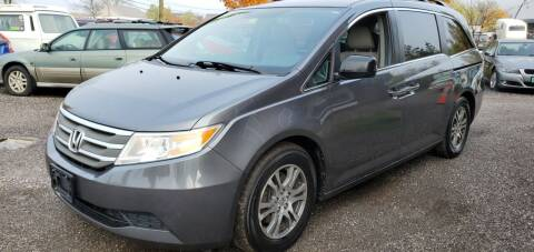2011 Honda Odyssey for sale at Village Car Company in Hinesburg VT