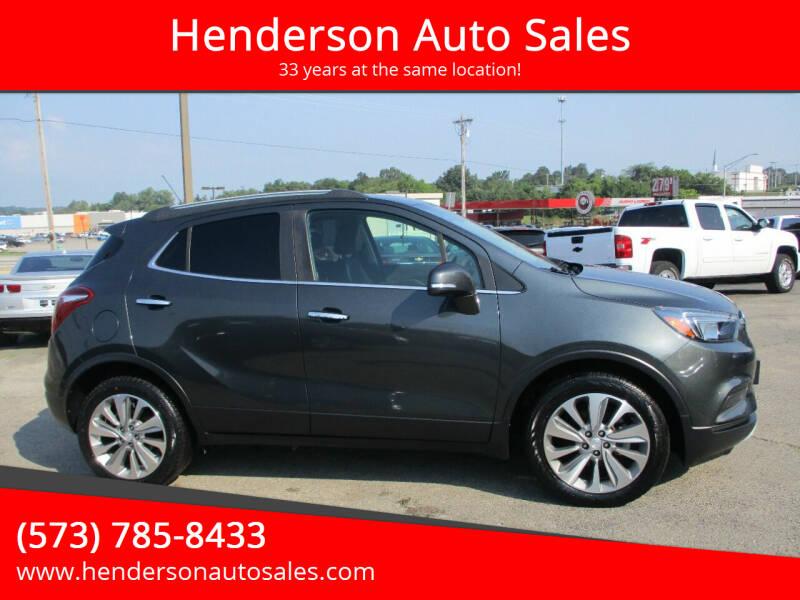 2018 Buick Encore for sale at Henderson Auto Sales in Poplar Bluff MO