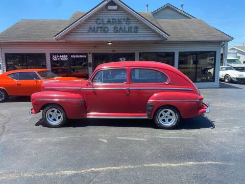 1946 Ford Tudor for sale at Clarks Auto Sales in Middletown OH