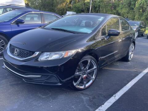 2015 Honda Civic for sale at Stearns Ford in Burlington NC