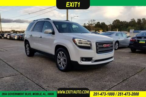 2016 GMC Acadia for sale at Exit 1 Auto in Mobile AL