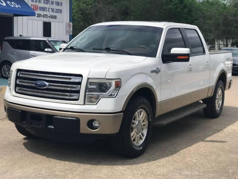 2013 Ford F-150 for sale at Discount Auto Company in Houston TX