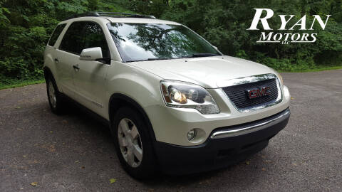 2008 GMC Acadia for sale at Ryan Motors LLC in Warsaw IN