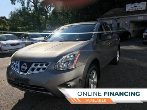 2012 Nissan Rogue for sale at VERNON MOTOR CARS in Vernon Rockville CT