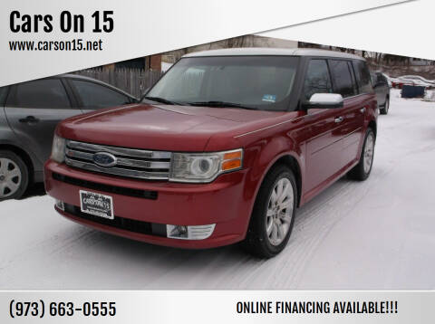 2009 Ford Flex for sale at Cars On 15 in Lake Hopatcong NJ