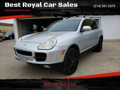 2006 Porsche Cayenne for sale at Best Royal Car Sales in Dallas TX