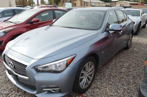 2015 Infiniti Q50 for sale at A AND A AUTO SALES in Gadsden AZ
