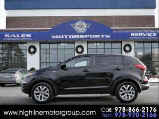 2015 Kia Sportage for sale at Highline Group Motorsports in Lowell MA