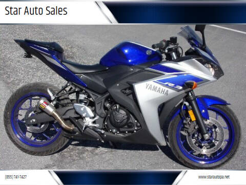 2015 Yamaha YZF R3 for sale at Star Auto Sales in Fayetteville PA