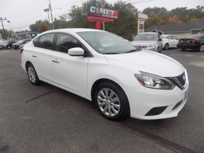 2017 Nissan Sentra for sale at Comet Auto Sales in Manchester NH