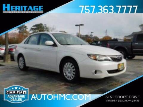 2009 Subaru Impreza for sale at Heritage Motor Company in Virginia Beach VA