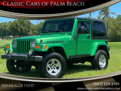 2004 Jeep Wrangler for sale at Classic Cars of Palm Beach in Jupiter FL
