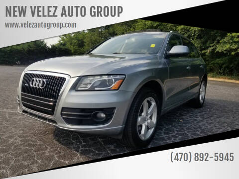 2010 Audi Q5 for sale at NEW VELEZ AUTO GROUP in Gainesville GA