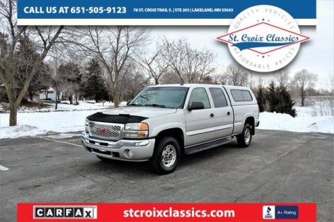2006 GMC Sierra 1500HD for sale at St. Croix Classics in Lakeland MN