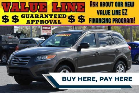 2012 Hyundai Santa Fe for sale at Broadway Garage of Columbia County Inc. in Hudson NY