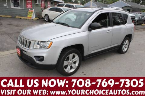 2013 Jeep Compass for sale at Your Choice Autos in Posen IL