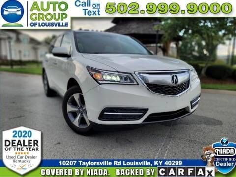 2015 Acura MDX for sale at Auto Group of Louisville in Louisville KY