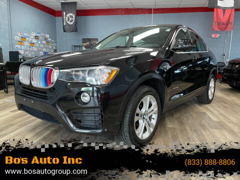 2016 BMW X4 for sale at Bos Auto Inc in Quincy MA