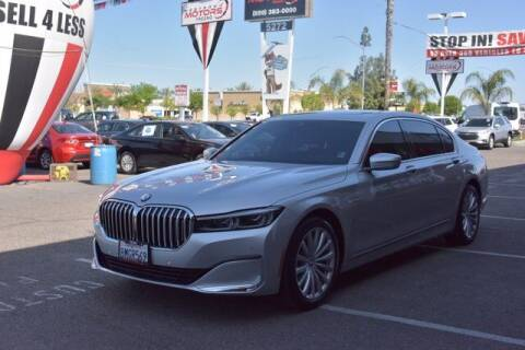 2020 BMW 7 Series for sale at Choice Motors in Merced CA