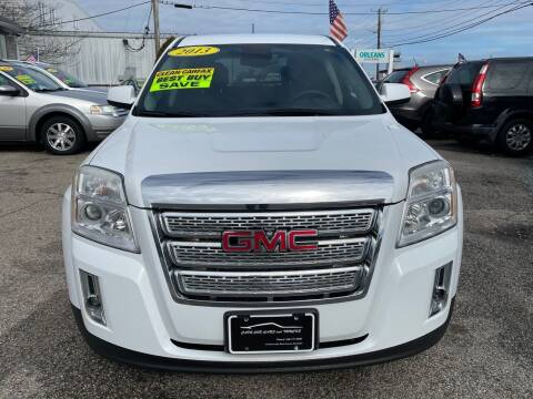 2013 GMC Terrain for sale at Cape Cod Cars & Trucks in Hyannis MA