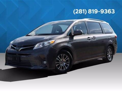 2019 Toyota Sienna for sale at BIG STAR HYUNDAI in Houston TX