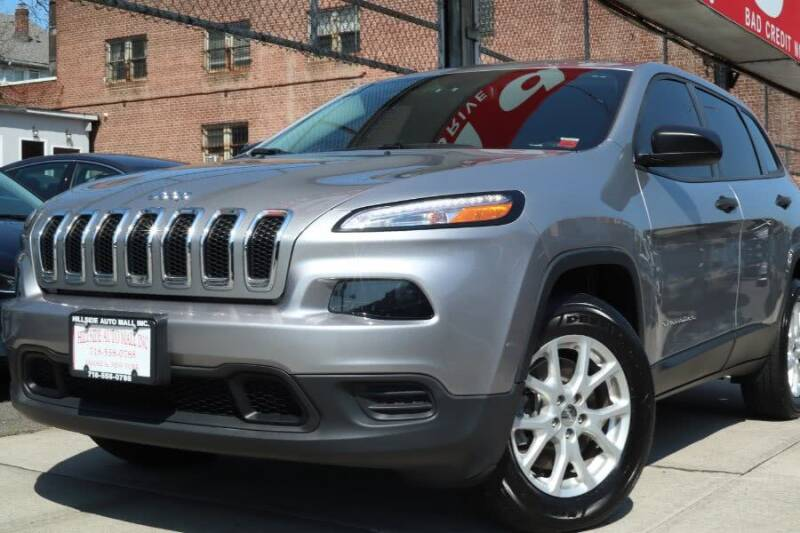 2017 Jeep Cherokee for sale at HILLSIDE AUTO MALL INC in Jamaica NY