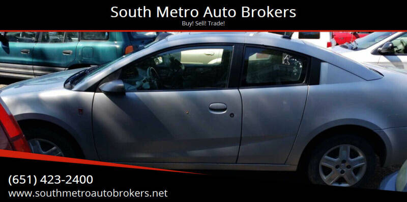 2007 Saturn Ion for sale at South Metro Auto Brokers in Rosemount MN
