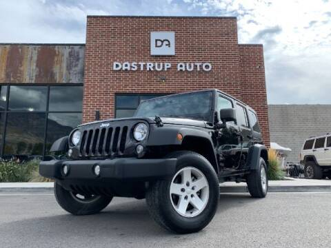 2017 Jeep Wrangler Unlimited for sale at Dastrup Auto in Lindon UT