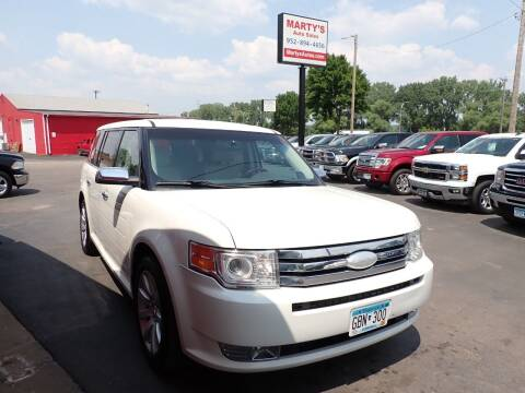 2012 Ford Flex for sale at Marty's Auto Sales in Savage MN