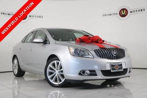 2014 Buick Verano for sale at INDY'S UNLIMITED MOTORS - UNLIMITED MOTORS in Westfield IN