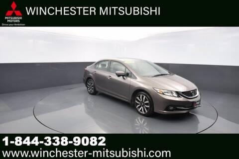 2014 Honda Civic for sale at Winchester Mitsubishi in Winchester VA