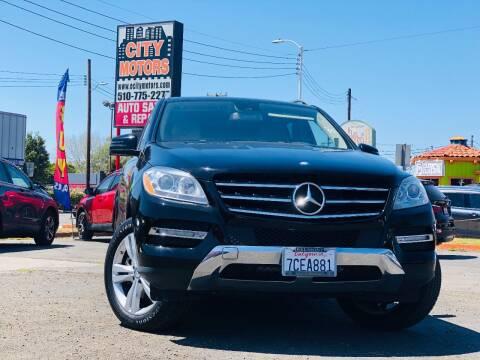 2012 Mercedes-Benz M-Class for sale at City Motors in Hayward CA