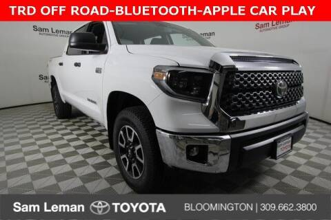 2021 Toyota Tundra for sale at Sam Leman Toyota Bloomington in Bloomington IL