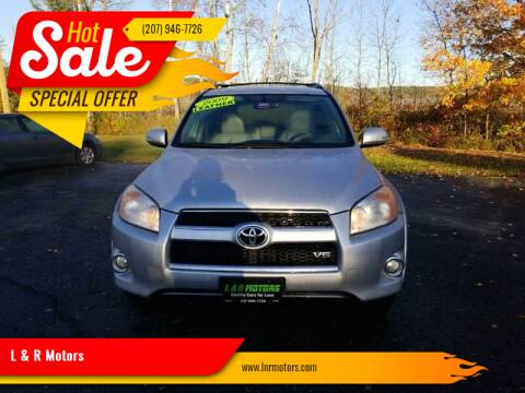 2009 Toyota RAV4 for sale at L & R Motors in Greene ME