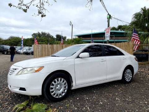 2008 Toyota Camry for sale at ROCKLEDGE in Rockledge FL