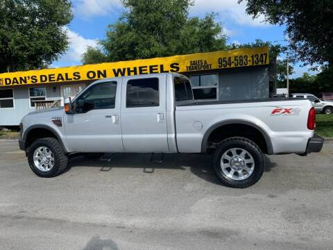 2008 Ford F-250 Super Duty for sale at DAN'S DEALS ON WHEELS in Davie FL