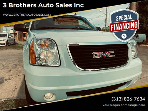 2014 GMC Yukon for sale at 3 Brothers Auto Sales Inc in Detroit MI